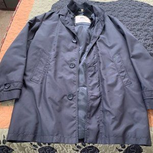 Mens Black Large Burberry Jacket - Fall/Winter